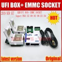 Новый 2019 оригинальный UFI коробка/Ufi коробка поддержка FBGA 153/169/162/186/221 254 ful EMMC Сервис Инструмент чтения данных пользователя EMMC, а также re