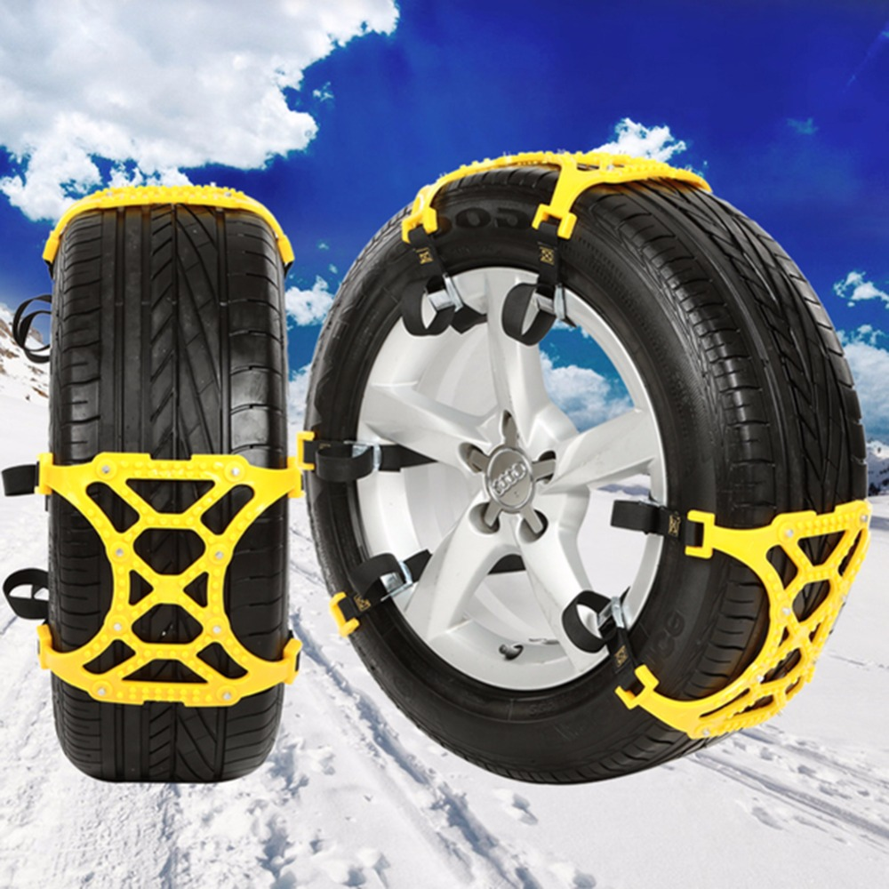 1pc winter truck car snow chain tire anti skid belt easy installation 2017 in snow chains from. Black Bedroom Furniture Sets. Home Design Ideas