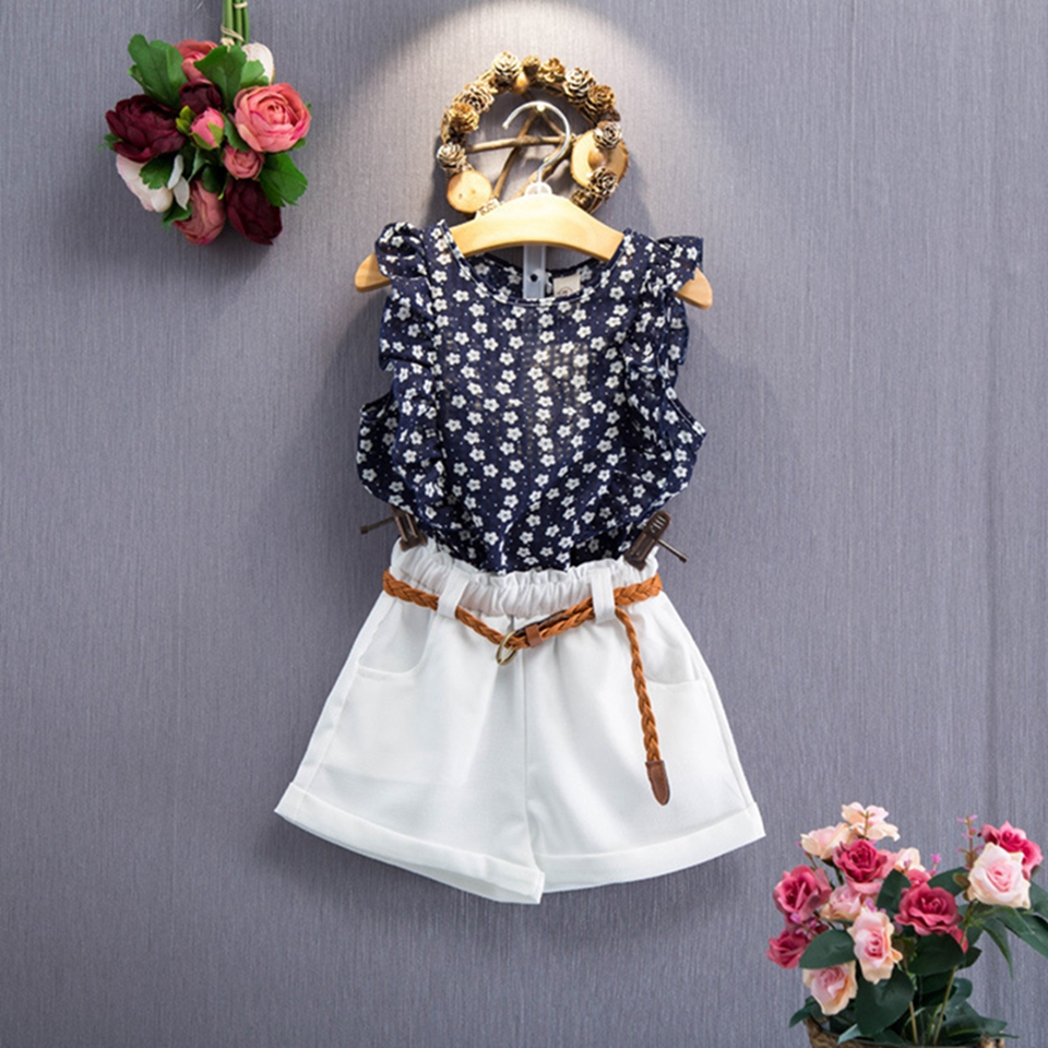 Women Clothes Units 2018 New Summer season Women Garments Sleeveless T-shirt+Shorts 2Pcs Youngsters Clothes Units for 3-7 Years Youngsters Swimsuit Clothes Units, Low cost Clothes Units, Women Clothes Units...