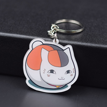 6 Styles Natsume Yujincho Keychain Keyrings Fashion Jewelry Key Chains Custom made Anime Key Ring FQ1