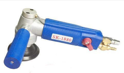 pneumatic air tools Wet Sander marble griotte stone wet water sander polishers SK 1880 3 in round pad