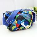 2017Fashion New Fashion Printing Pattern Soft Cover Fabric Three-Layer Storage Bag Mommy Multi-Functional Single ShoulderHandbag