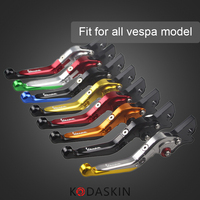 KODASKIN Folding Extendable Brake Clutch Levers For Vespa GTS 300ie Super GTS 300ie Super Sprint 50