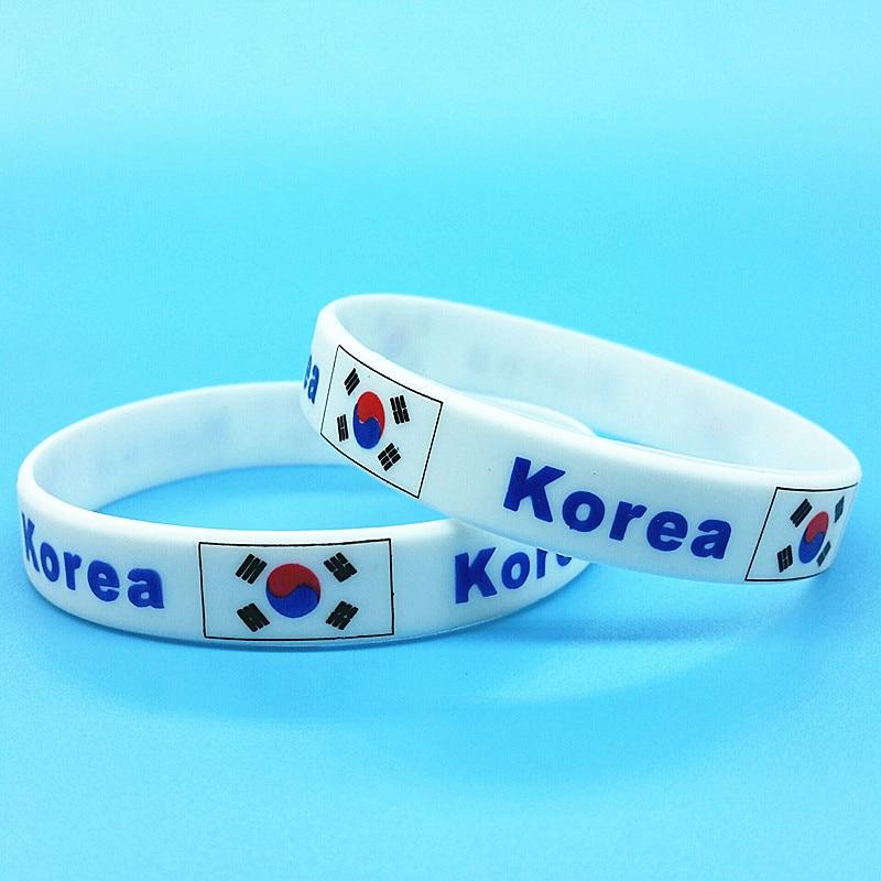 2pcs Korea Flag Silicone...