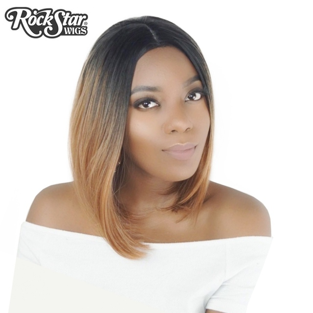 Rockstar wigs 4colors short straight ombre synthetic hair wigs for rockstar wigs 4colors short straight ombre synthetic hair wigs for black women central parting cosplay hair pmusecretfo Images