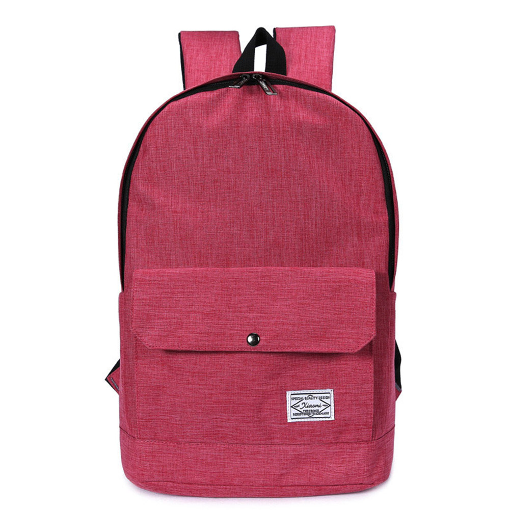 Fashion 5 Colors New Arrivals Brand Design Teenager Schoolbag Men Women Canvas Backpack Weekend Travel Bags