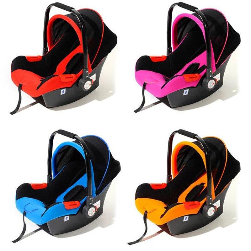 цена на Free Ship Brand New Safe Neonatal Basket-Style Car Seat Infants Handle Basket Seat Newborn Babies Car Safety Seats Free Shipping