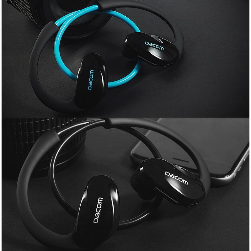 Dacom Athlete Bluetooth 4.1 гарнитура микрофонмен - Портативті аудио және бейне - фото 6