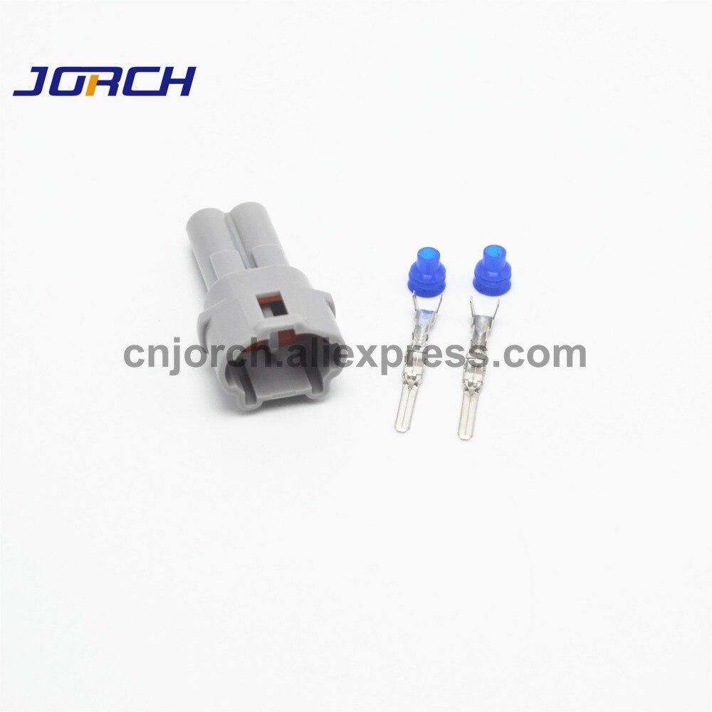 10 Sets 2pin Sumitomo Auto Waterproof Wire Harness Male Connector Plug 6187-2311