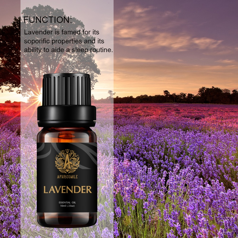 Lavender 100% Pure Natural Organic, Best Grade Essential Oil, Promote Peaceful Sleep, Relaxation, Tension Relief