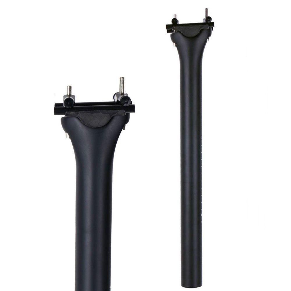 Pas de LOGO tige de selle en carbone vélo de montagne route en fibre de carbone tige de selle 27.2/30.8/31.6X350/400mm