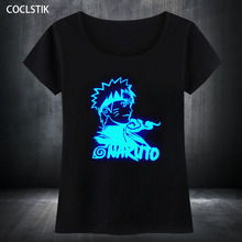 Amazing fluorescent NARUTO Women T-Shirt