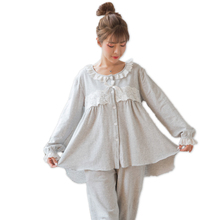 Spring Autumn Maternity Breastfeeding Wear Set Cotton postpartum pregnant women pajamas sleepwear Long-sleeved nursing sets breastfeeding clothes for pregnant women 2017 autumn nursing pajamas casual clothing set long sleeve maternity sleepwear a0035
