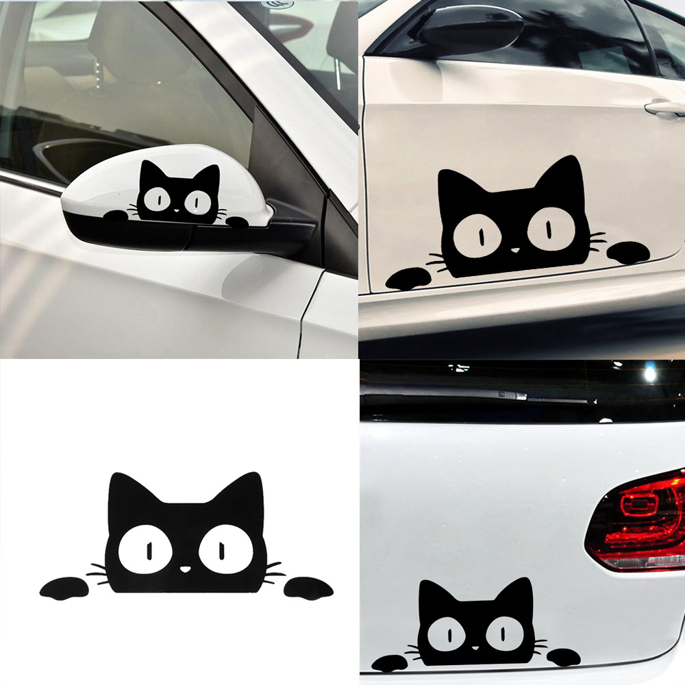 Car Sticker Cat Car Stickers And Decals Funny Motorcycle Decal Auto Decor Car Accessories More Size And Colours