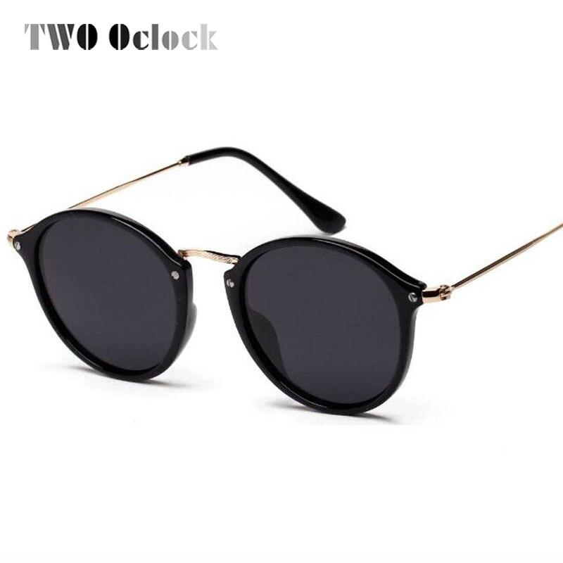 DOIS Oclock Espelhado Polarizada Óculos De Sol Das Mulheres Do Vintage  Rodada Óculos de Sol Pretos Homens De Óculos de sol Polaroid Óculos Óculos  Ao Ar ... 73fa391d59