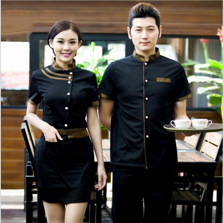 Wholesale Retail Man Hotel Waiter Uniform Waiters Uniforms