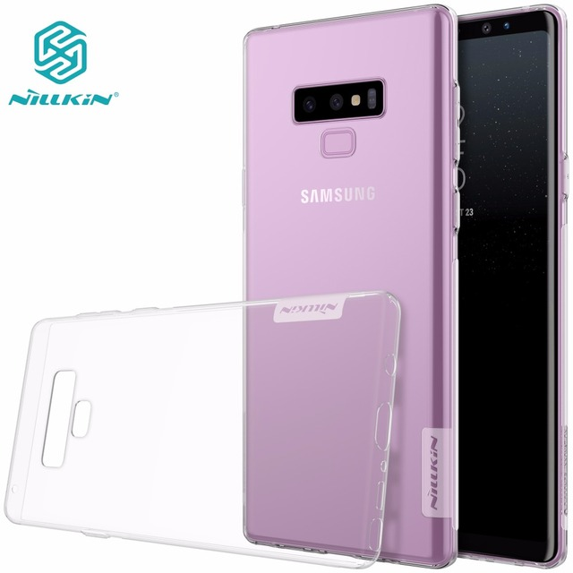 super cute b571c 53a93 US $4.99 |Nillkin soft Case For Samsung Galaxy Note 9 8/ Note9 Transparent  TPU Back Cover sFor Samsung Note 9 Case-in Fitted Cases from Cellphones &  ...
