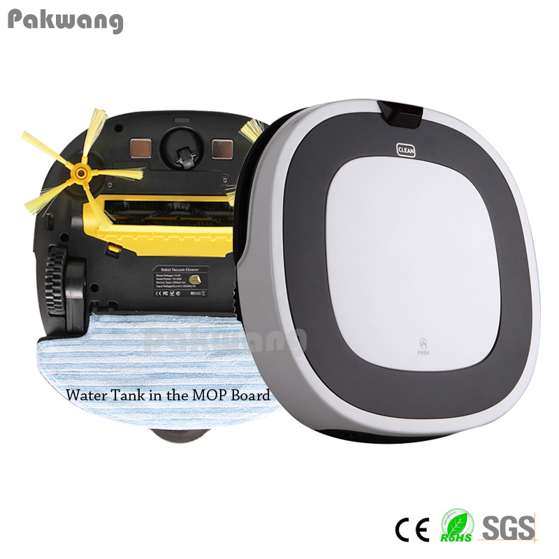 2 in 1 Robot Vacuum Cleaner for Home D5501 Wet and Dry Vacuum Cleaner Large Water Tank Ciff Sensor ROBOT ASPIRADOR Free shipping pakwang advanced d5501 wet and dry robot vacuum cleaner washing mop robot vacuum cleaner for home