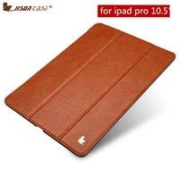 ยกพลิกสำหรับiPad P Ro 10.5กรณีJisoncase PUหนังมังสวิรัติปลุกอัตโนมัติปกสมาร์ทแท็บเล็ตกรณีเปลือกแอป