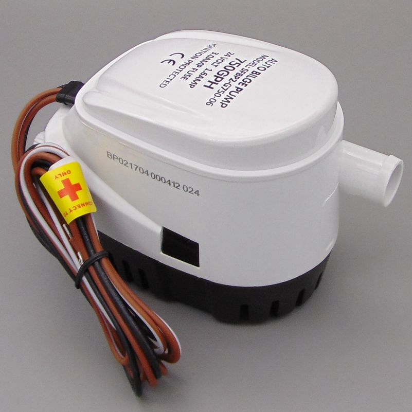 G750-06 750GPH 24v automatic boat bilge pumps for boats,rule automatic bilge pump rule eco switch ecologically sound automatic bilge switch
