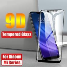 9D Tempered Glass Full Glue Cover for Xiaomi Mi 8