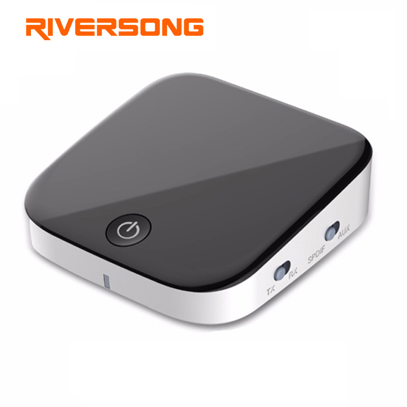 RIVERSONG Bluetooth Transmitter Bluetooth font b Receiver b font Optical Toslink SPDIF 3 5mm Audio Bluetooth