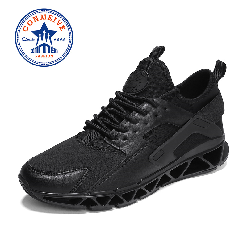 bc25768a8abd Breathable Light Running Shoes Comfortable Lace-Up Low Designer Sneakers  Man Outdoor Non-slip Wear Resistant Jogging Sport Shoes - baela Review