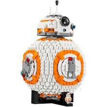 Star Wars Robot BB8 Conjunto Genuino 1238 Unids Estrella Plan legoings Serie 75187 Unidades Bloques de Construcción Ladrillos Juguetes Como regalos de Navidad regalos