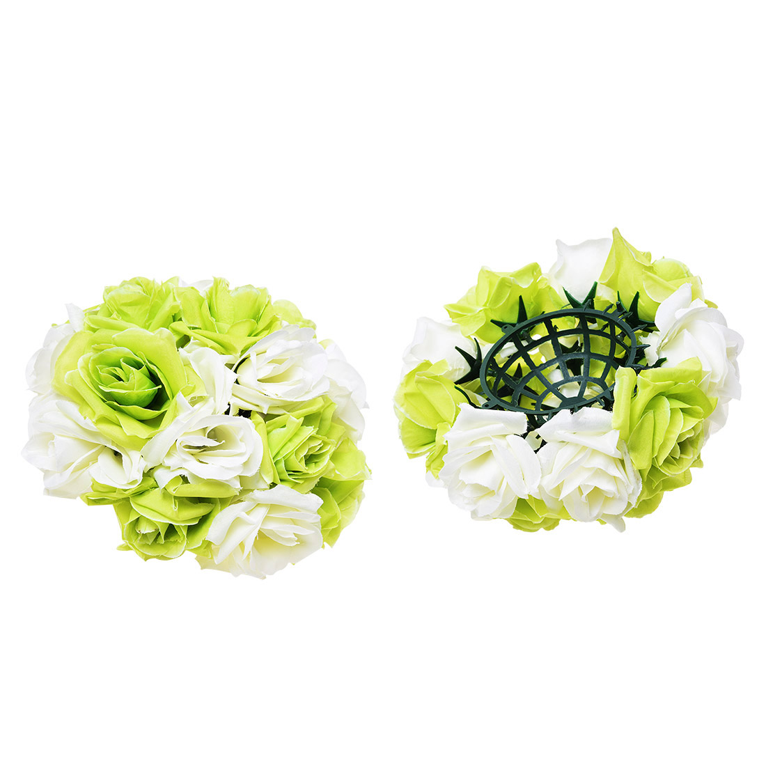 8 20cm Tiffany Blue Wedding Decorations Rose Silk Flower Ball Centerpieces Mint Decorative