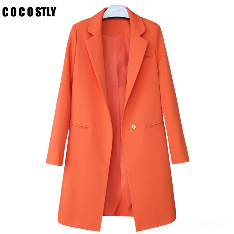 2019 Hot Sale Women Blazers And Jackets Spring Autumn Casual Long Women Suits Wide Waisted Solid Female Jacket Plus Size