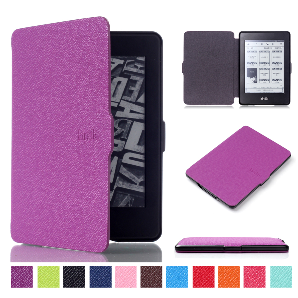 Ultra Slim Cover Case for Amazon Kindle Paperwhite 1 2 3 6Case for Kindle Paperwhite case 6inch Tablet Shell With Sleep&Wake Up fashion pu leather ultra slim smart cover case for amazon kindle paperwhite 1 2 3 6case tablet shell with sleep