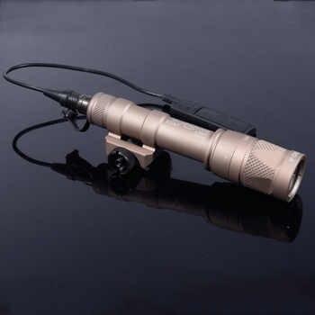 M600 M600V Scout Light Hunting Strobe Flashlight Gun Weapon For 20mm Weaver Picatinny Rail Base 1913 Mount