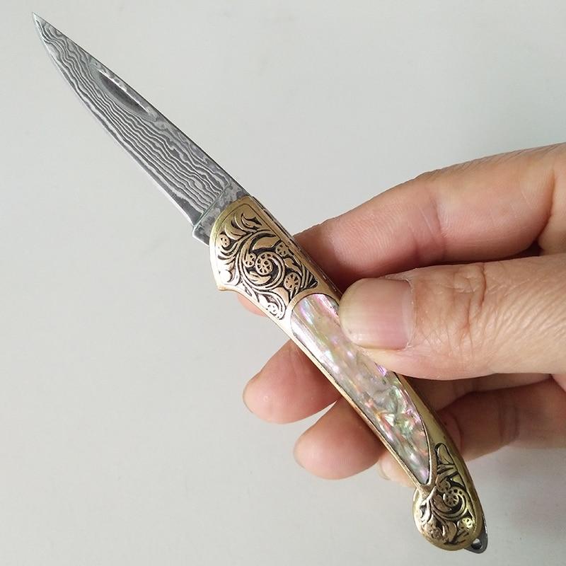 Nowy styl Uchwyt rękojeści Czysty ręczny nóż damasceński Nóż - Narzędzia ręczne - Zdjęcie 2