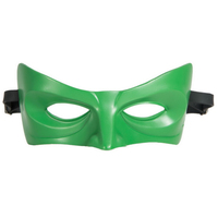 Coslive 2019 Hot Sale Lantern Mask Green Resin Eye Patch Superhero Cosplay Costume Accessories For Masquerade Halloween Party