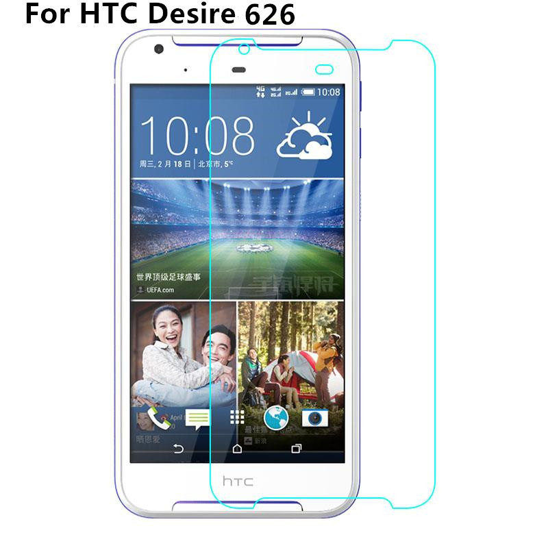2.5D 0.3mm Ultra Thin Tempered Glass Film For HTC Desire 626 626G 626S 626G+ 650 Anti Explosion Screen Protector 9H