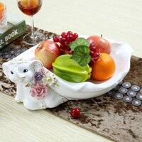 Фруктовая чаша предметы домашней мебели, сокращенная большая гостиная чайный столик закуски конфеты лоток для сухих фруктов и прекрасный