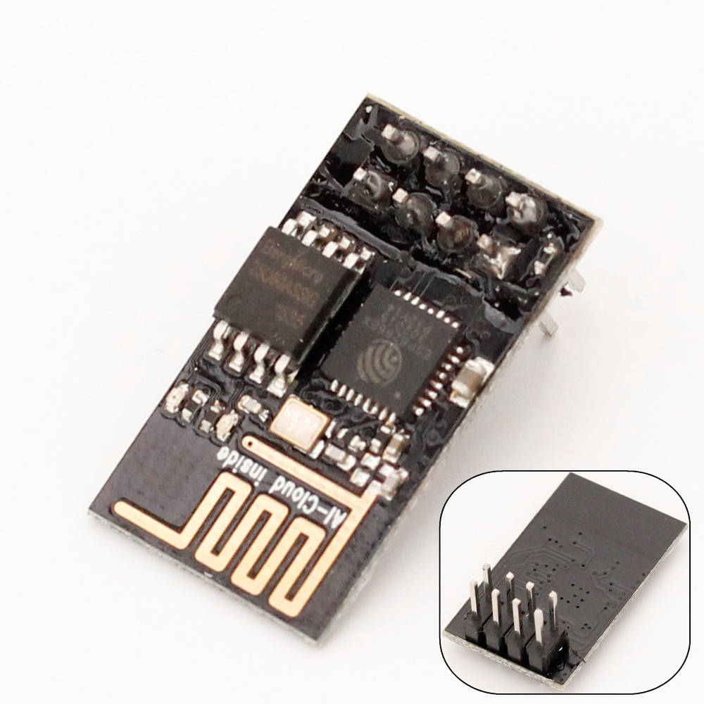 5pcs ESP8266 ESP01 ESP-01 Serial Wireless WIFI Module Transceiver Receiver Board   IOT LWIP AP+STA for Arduino Raspberry Pi 3 esp 07 esp8266 wifi serial transceiver module