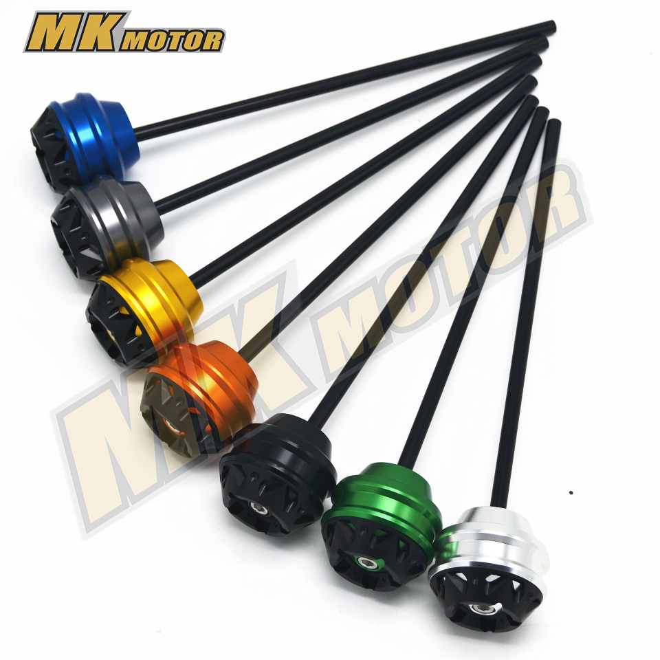 Front & Rear Axle Fork Sliders Crash Protector For BMW S1000R S 1000R s1000r 2010-2017  10-17