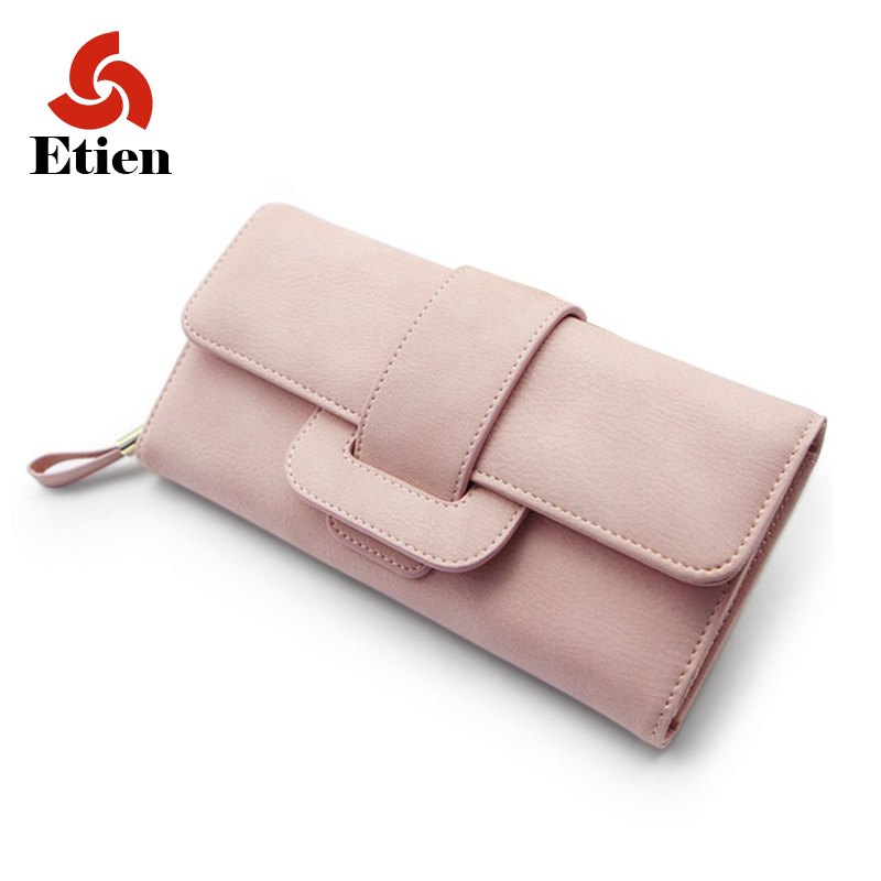 Women's purse wallet zipper brand designer luxury for coins women wallets for credit cards and phone portfolio long purse sac