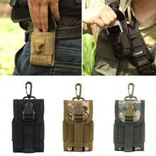New Outdoor Camping Hunting Bags Tactical Molle Cell Phone Smartphone Waist Pouch Survival Tools High Quality H1E1