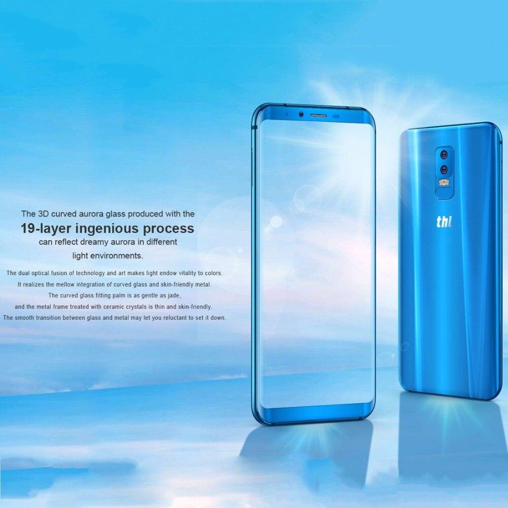THL Knight 2 Smartphone 6.0Screen MTK6750 Octa core Wireless charge 4GB RAM 64GB ROM 13.0MP+5.0MP Fingerprint 4200mAh 4G Phone