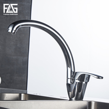 FLG Kitchen Faucet Deck Mounted kitchen sink faucet Cold and Hot Water Tap 360 Degree Swivel mixer faucets torneira new design 360 degree swivel kitchen faucet brass made kitchen sink mixer tap torneira cozinha kitchen tap