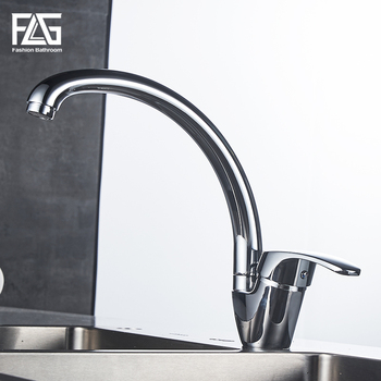FLG Kitchen Faucet Deck Mounted kitchen sink faucet Cold and Hot Water Tap 360 Degree Swivel mixer faucets torneira pull out sprayer kitchen faucet chrome deck mounted 360 degree luxury white hot and cold stream water mixer bathroom tap sink