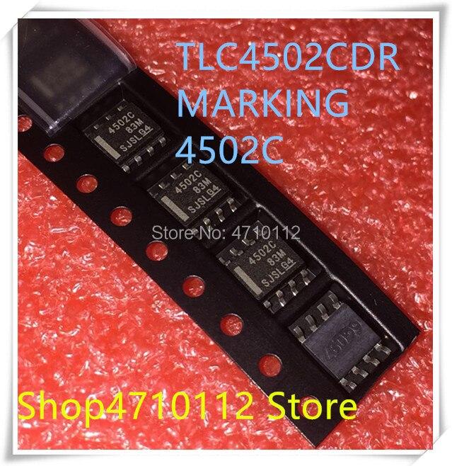 NEW 10PCS LOT TLC4502CDR TLC4502C TLC4502 4502C 4502 SOP 8 IC