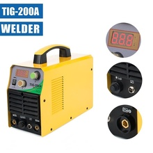 TIG-200A  220V Welding Machine DC Inverter Welder ARC STICK  Single Phase 220V Welding Machine With Accessories