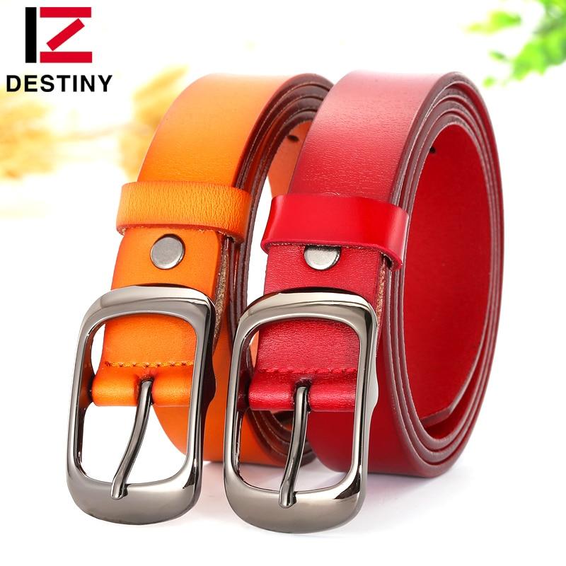 DESTINO Diseñador Cinturones Correa de Las Mujeres de Alta Calidad - Accesorios para la ropa - foto 6