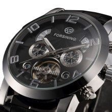 Hot Sale Forsining Mechanical font b Watch b font font b Men b font Business font