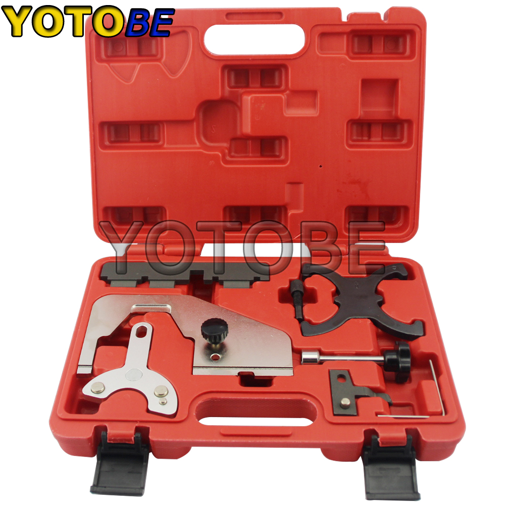Engine Timing Tool Cam Camshaft Alignment Set for Ford Volvo Mazda 1.6L 2.0L T4 T5 engine timing tool set for freelander v6 rover kv6 rover land rover 2 0 2 5l timing camshaft alignment tool special belt tool