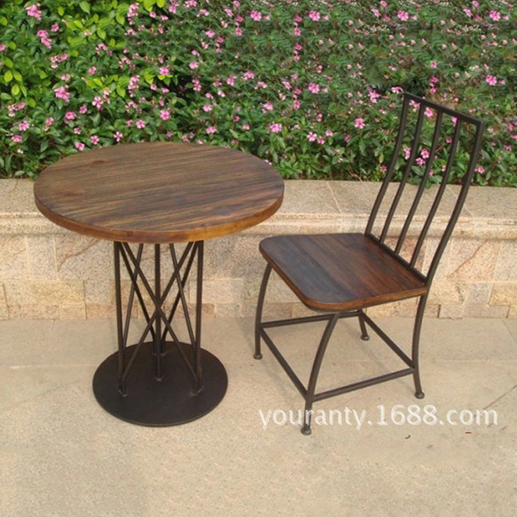 Pa furniture promotion shop for promotional pa furniture for Wrought iron cafe chairs