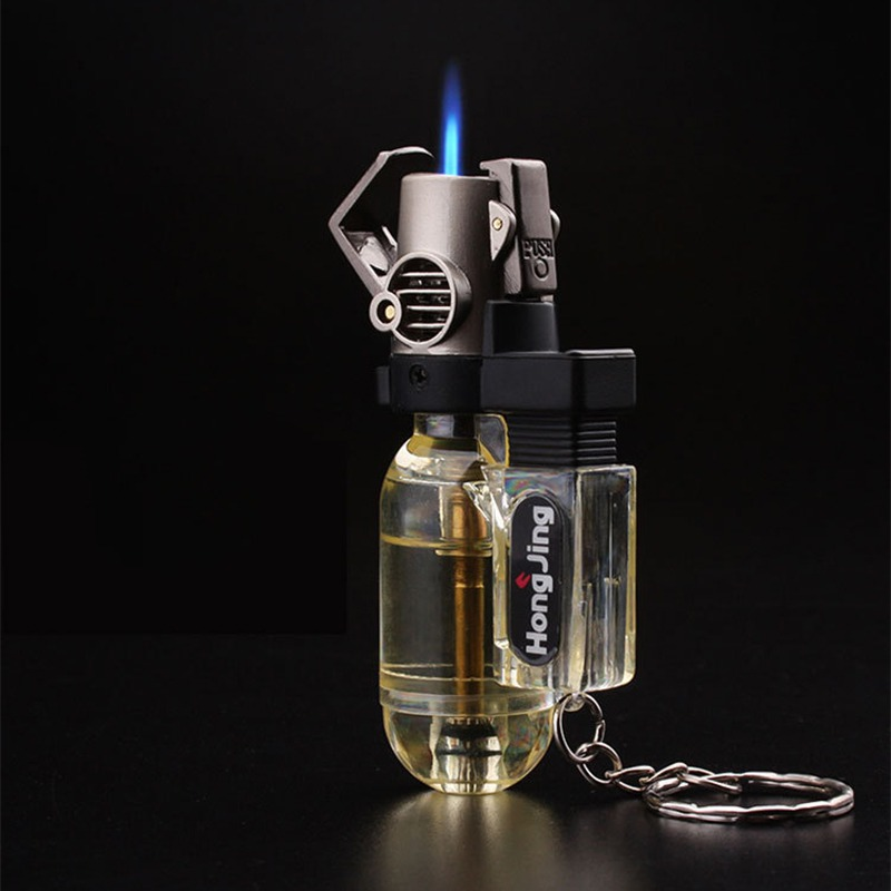 Ship From USA Outdoor Cigarette Torch Lighters Keychain Lighter Stylish Potable Travel Smoking Accessories Key Ring Tools